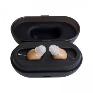Rechargeable Digital Invisible Mini CIC Hearing Aid Amplifier amazon